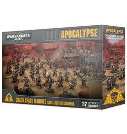 Warhammer 40K WH40K - Apocalypse Chaos Space Marines Battalion