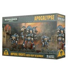 Warhammer 40K WH40K - Apocalypse Imperial Knights Super-Heavy Detachment