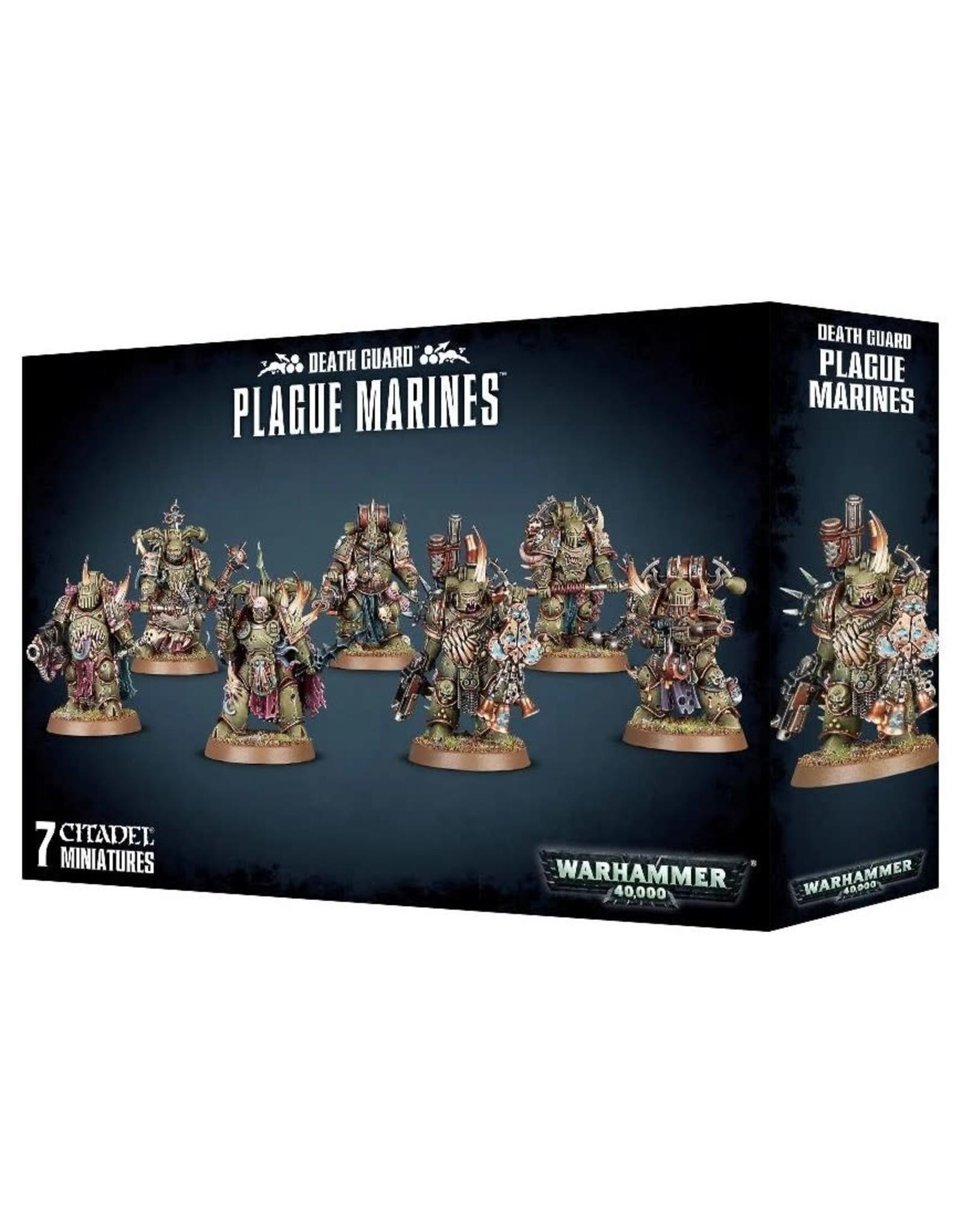 Warhammer 40K WH40K - Death Guard Plague Marines