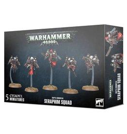 Games Workshop WH40K Adepta Sororitas Seraphim Squad