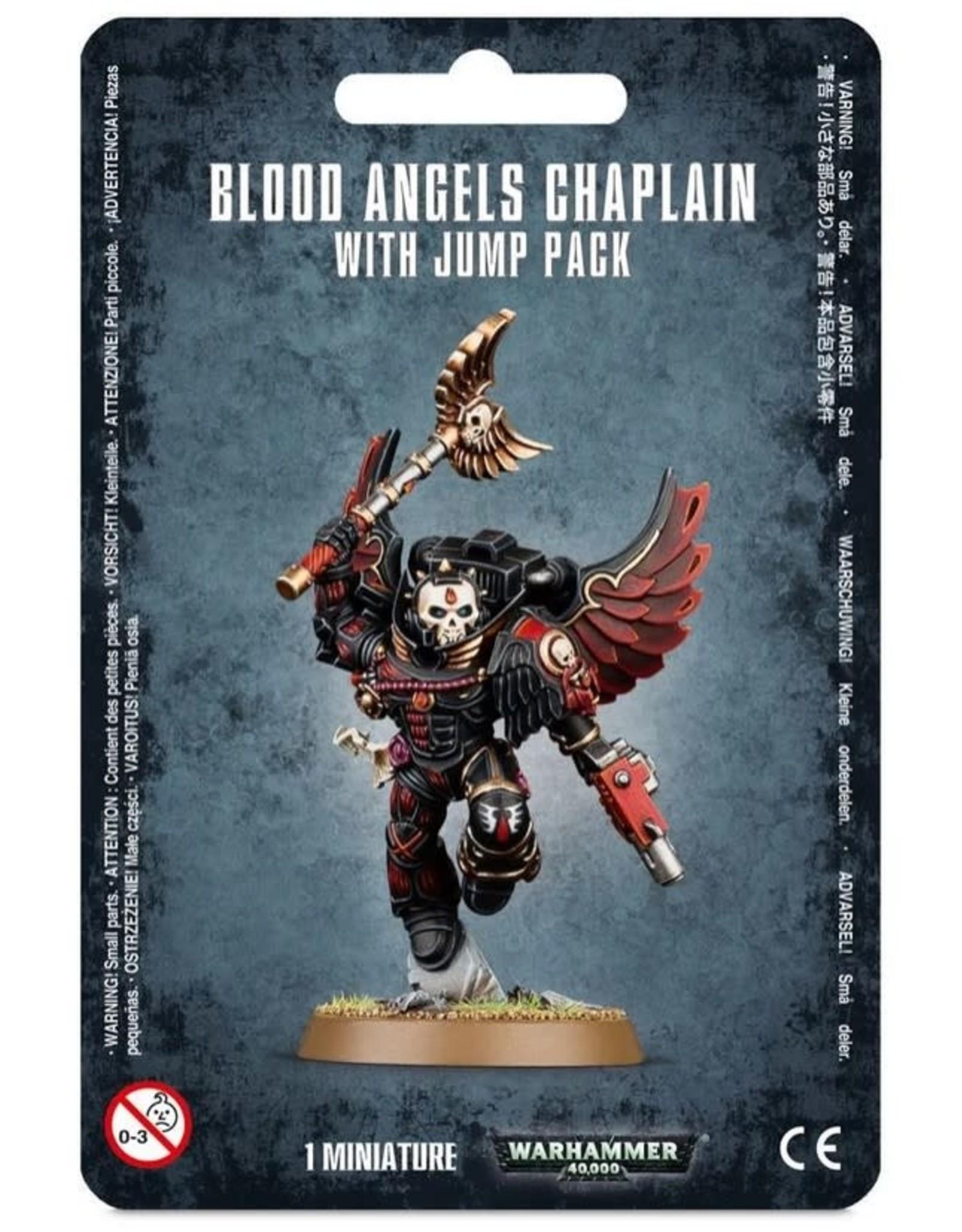 Games Workshop WH40K Blood Angels Chaplin w/ Jump Pack