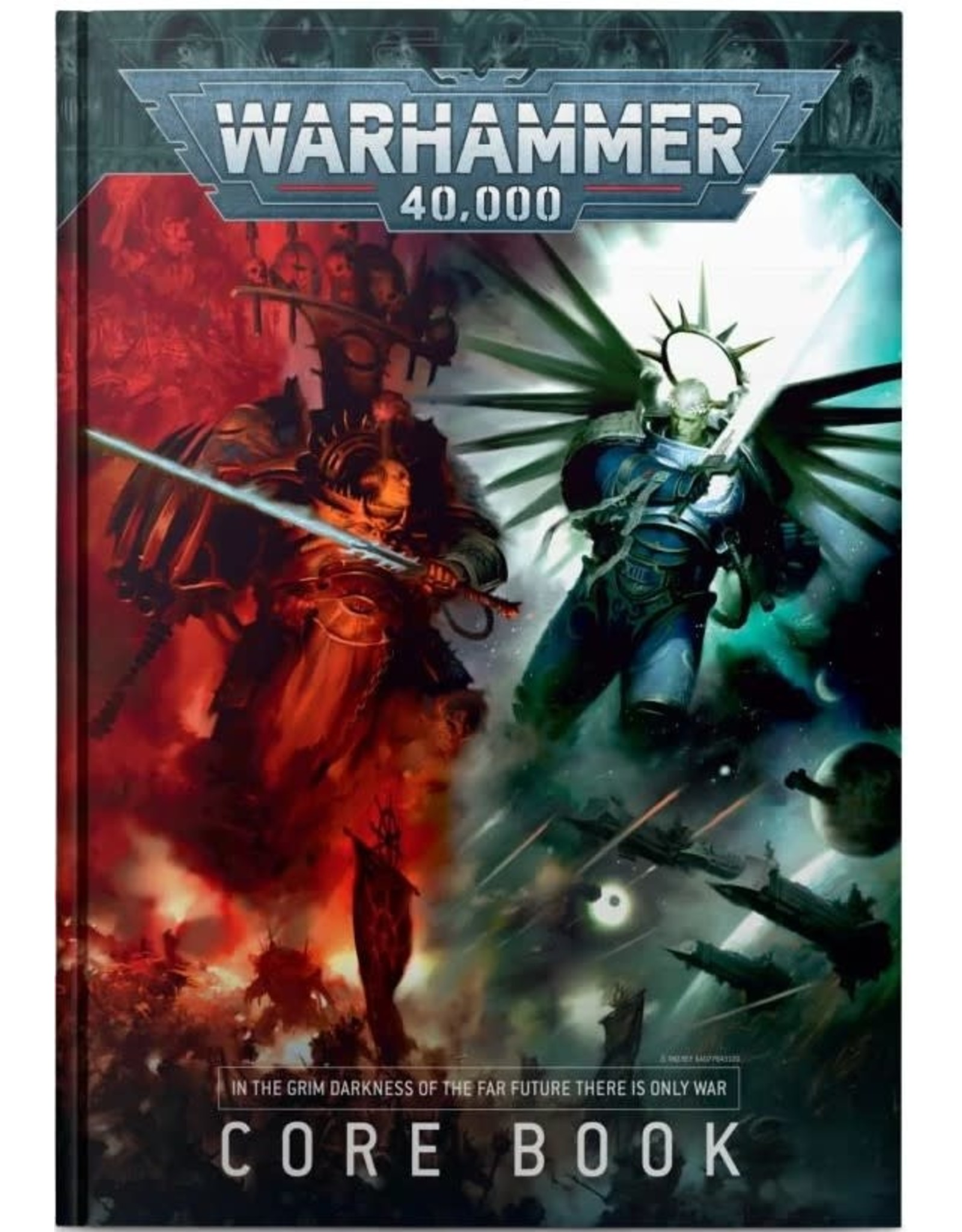 Games Workshop WH40k: WarHammer Core Book