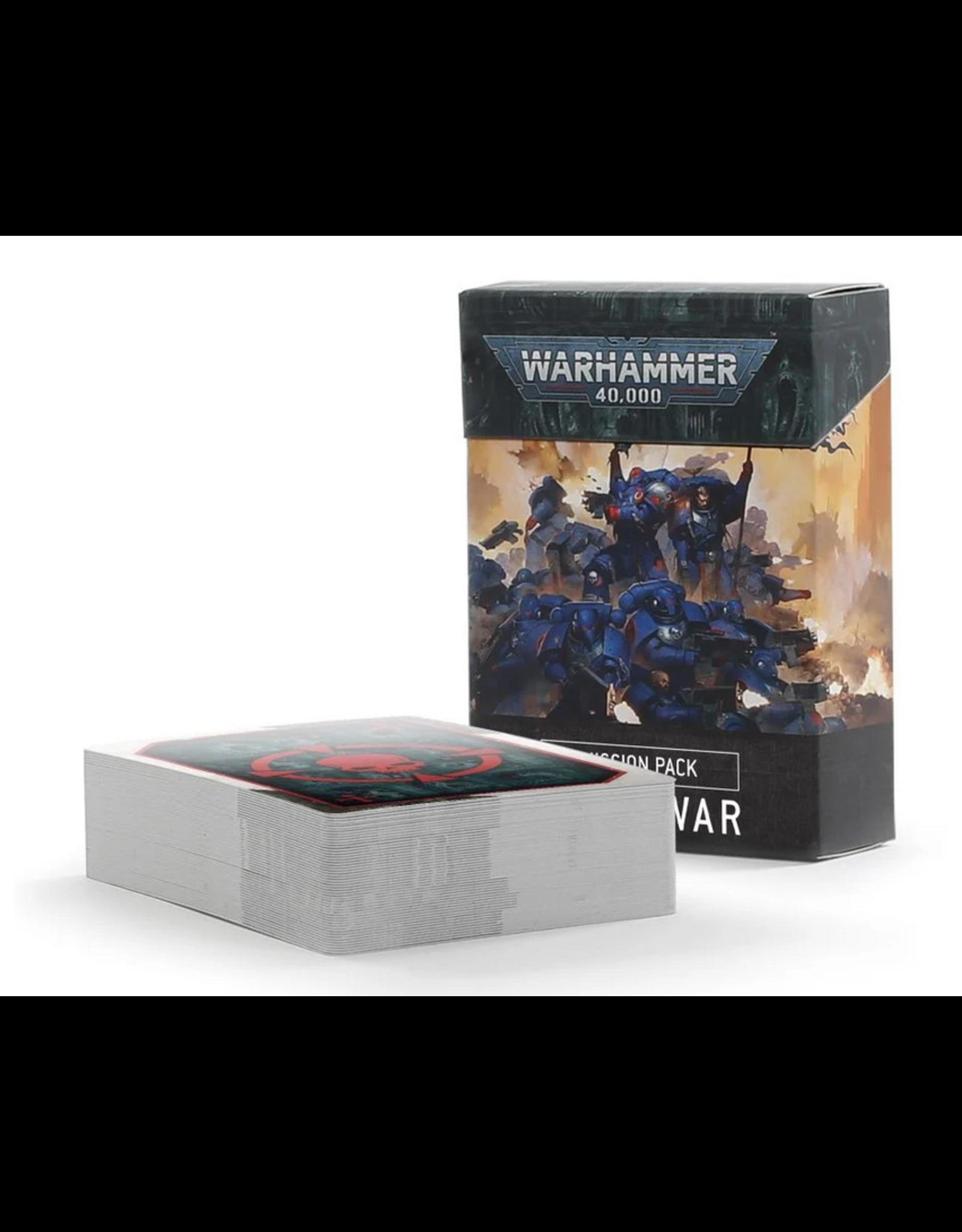 Games Workshop WH40K: Mission Pack: Open War
