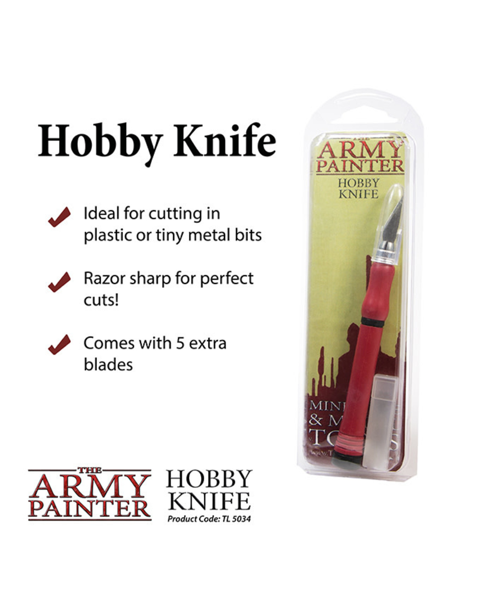 Army Painter Army Painter - Hobby Knife