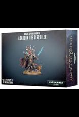 Warhammer 40K WH40K Chaos Space Marines Abaddon the Despoiler