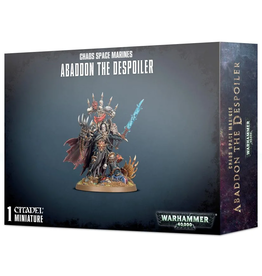 Warhammer 40K WH40K Chaos Space Marines Abaddon the Despoiler