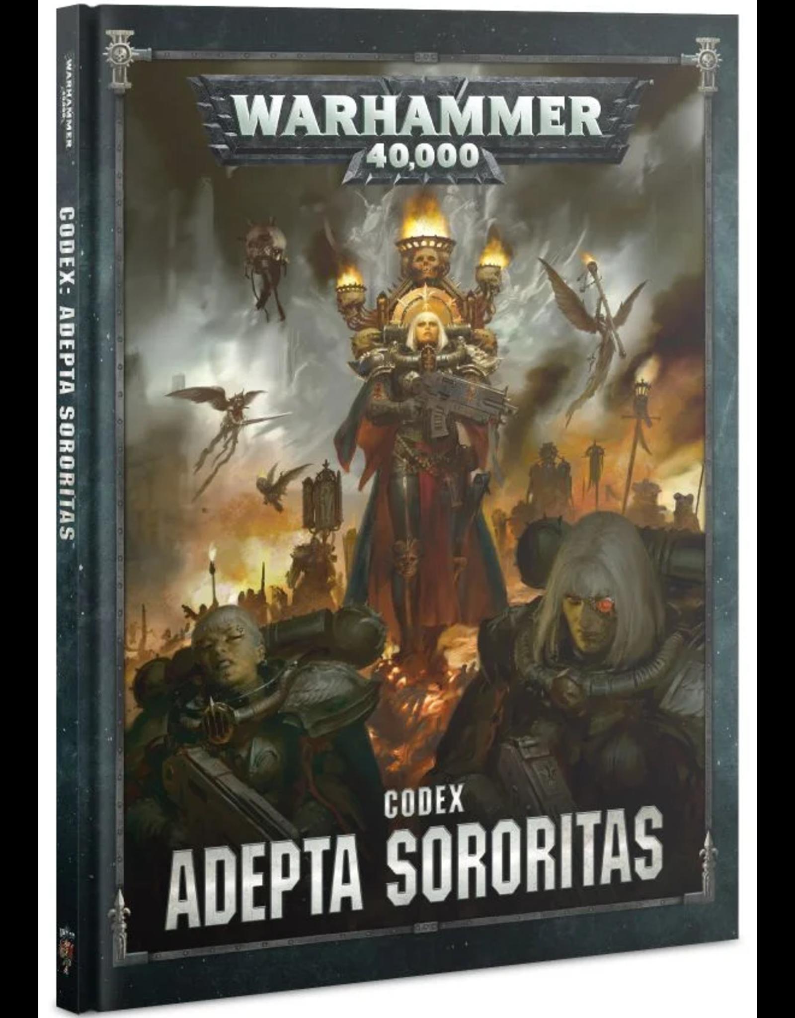 Warhammer 40K WH40K Codex - Adepta Sororitas