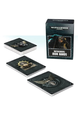 Games Workshop WH40K Iron Hands Data Cards