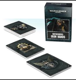 Games Workshop WH40K Codex Iron Hands Data Cards