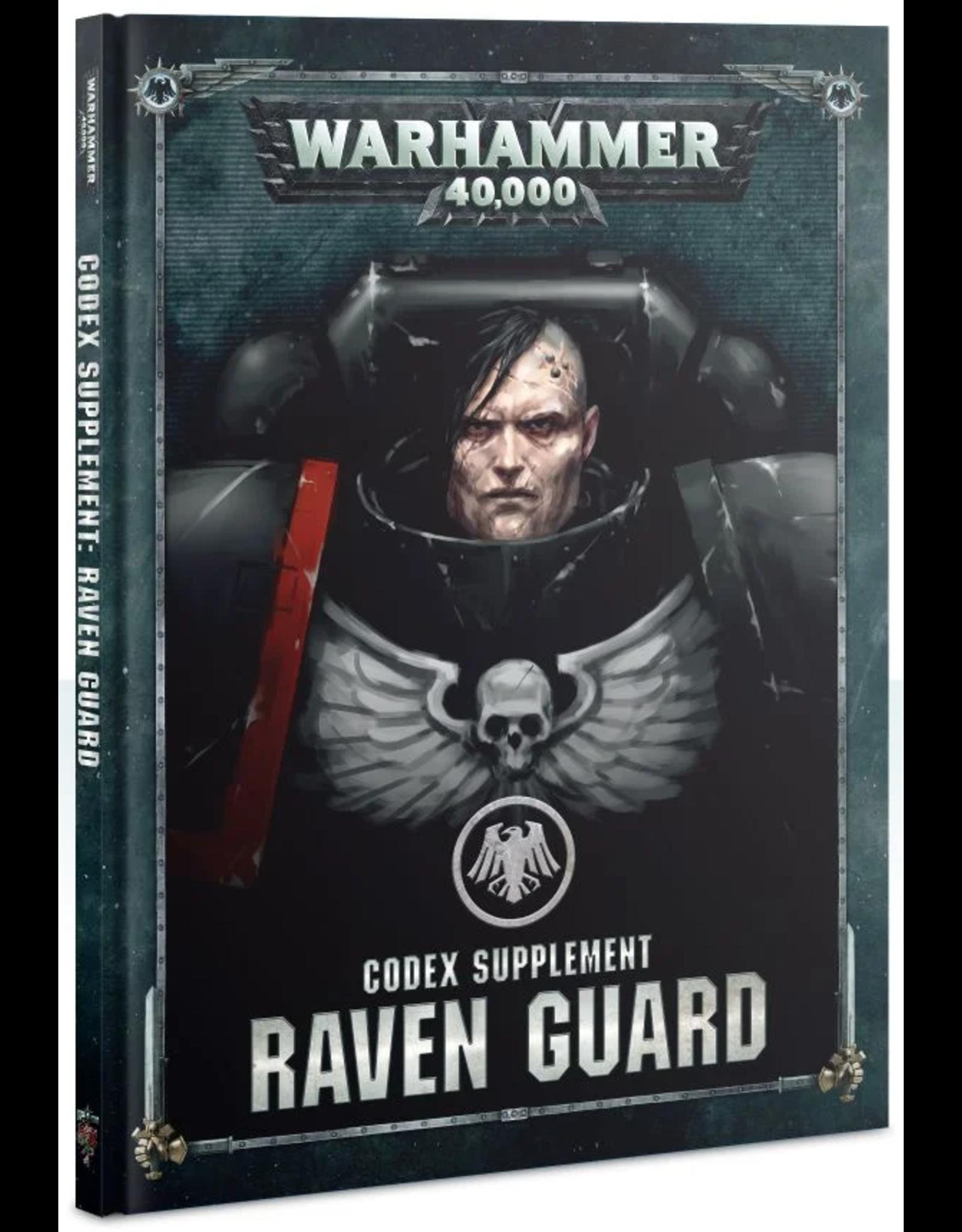 Games Workshop WH40K Codex Supplement: Raven Guard