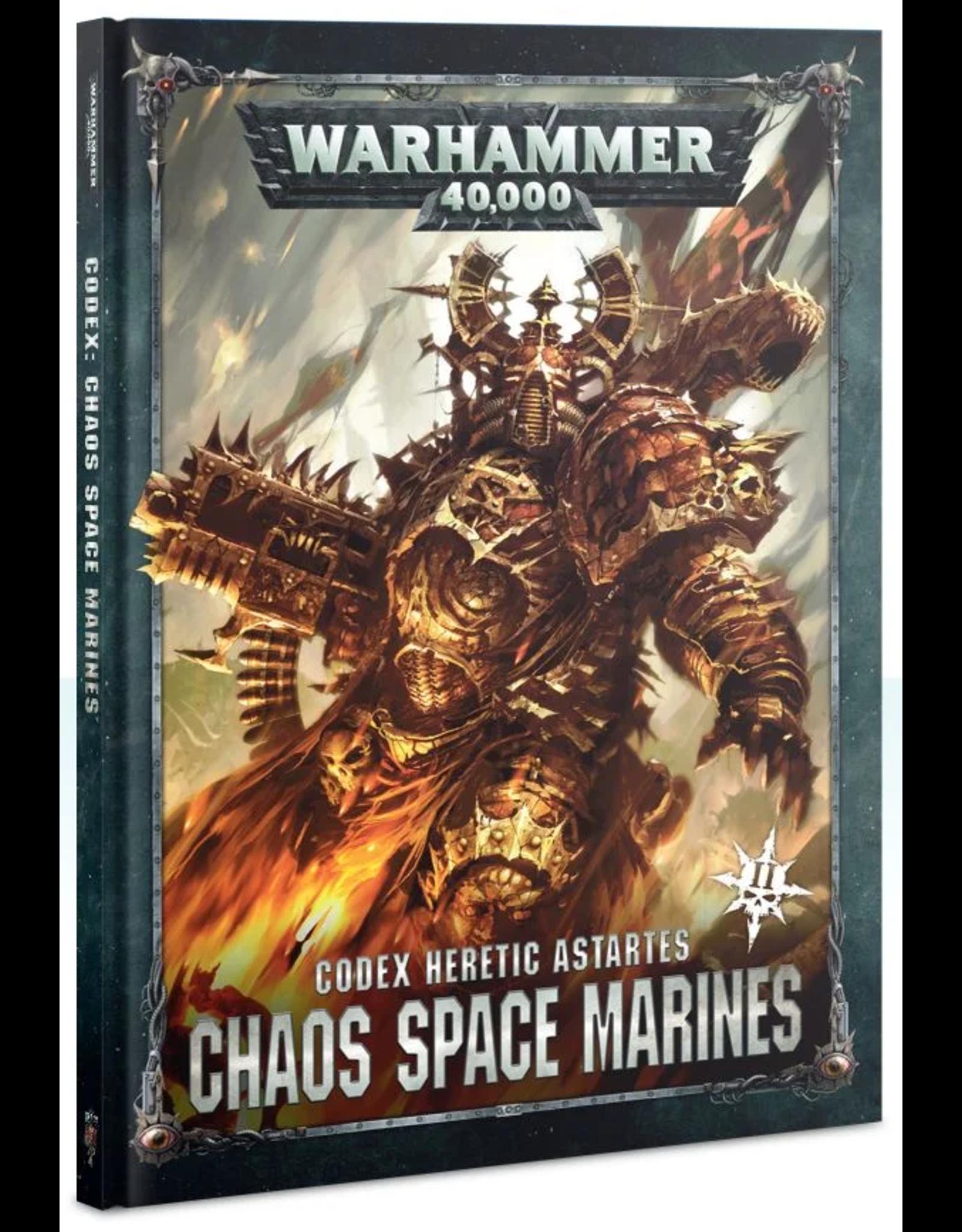 Warhammer 40K WH40K Codex: Chaos Space Marines