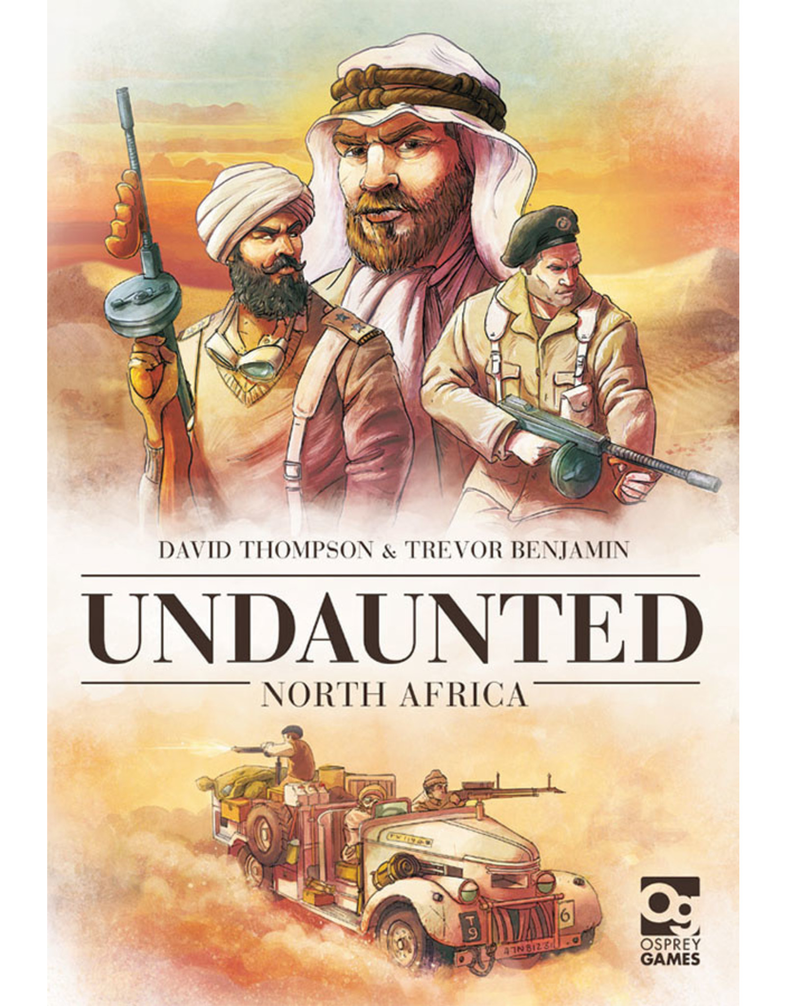 Osprey Games Undaunted North Africa