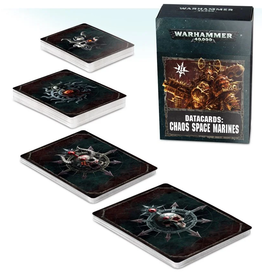 Games Workshop WH40K Data Cards - Chaos Space Marines