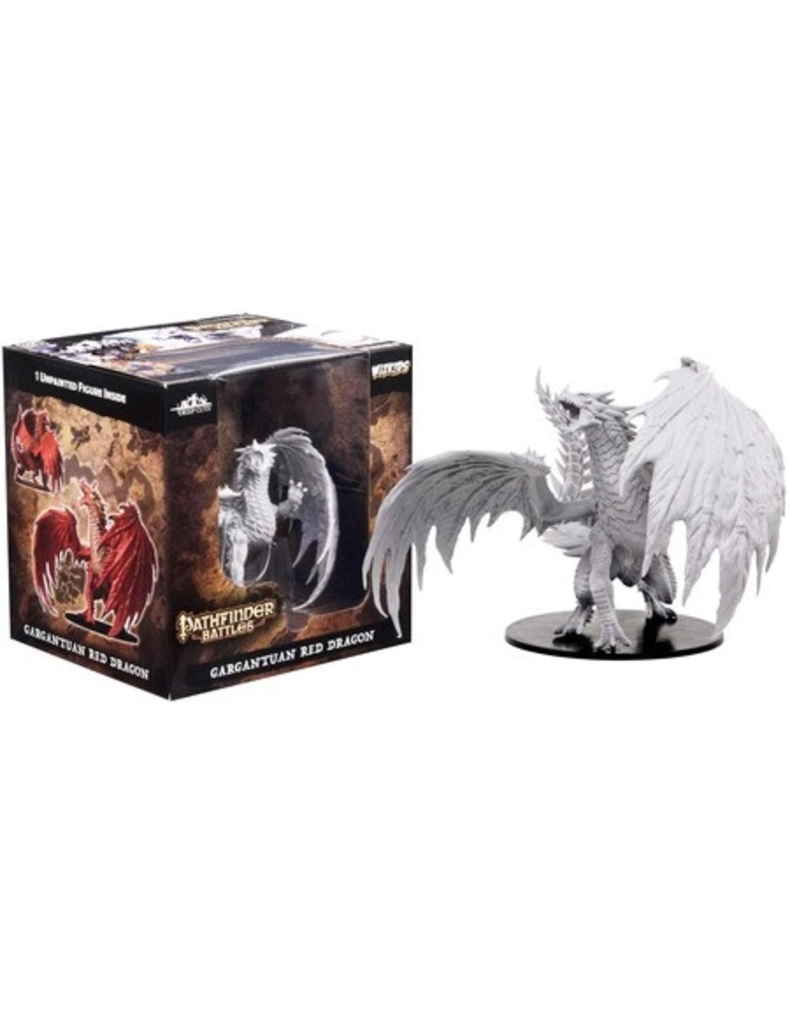 WizKids Pathfinder Gargantuan Red Dragon