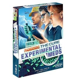 zman games Pandemic: The Cure - Experimental Meds Super Expansion