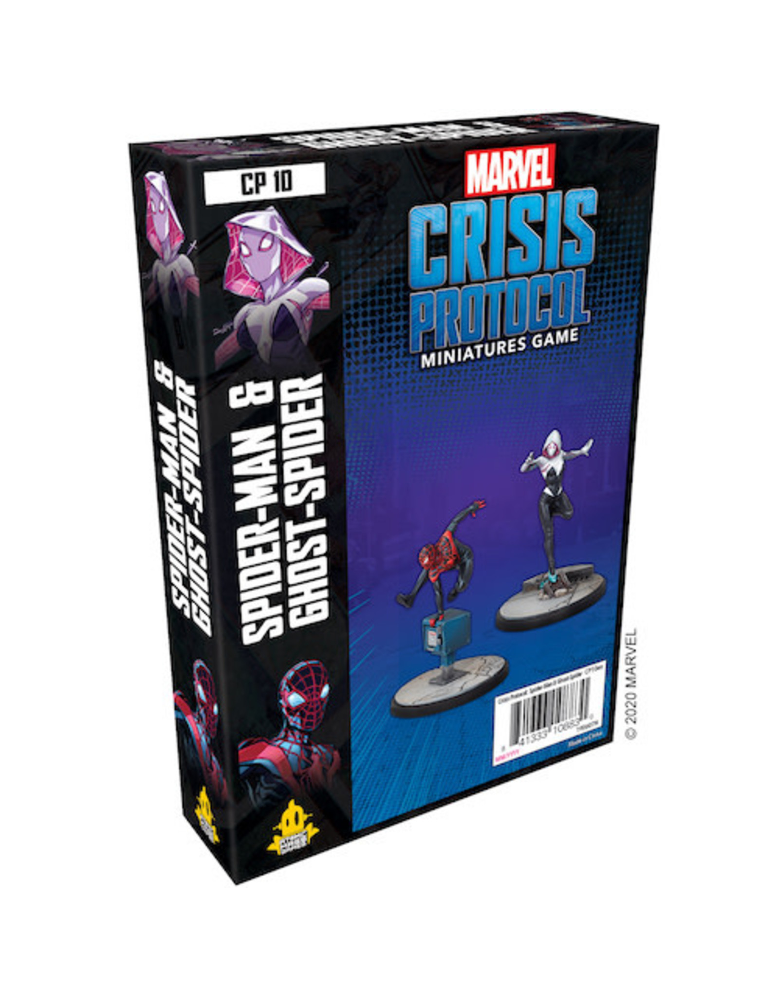 Atomic Mass Games Marvel Crisis Protocol - Spider-Man & Ghost-Spider