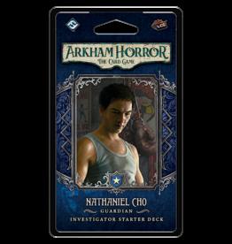 Fantasy Flight Games Arkham Horror LCG Nathaniel Cho Investigator Starter Deck