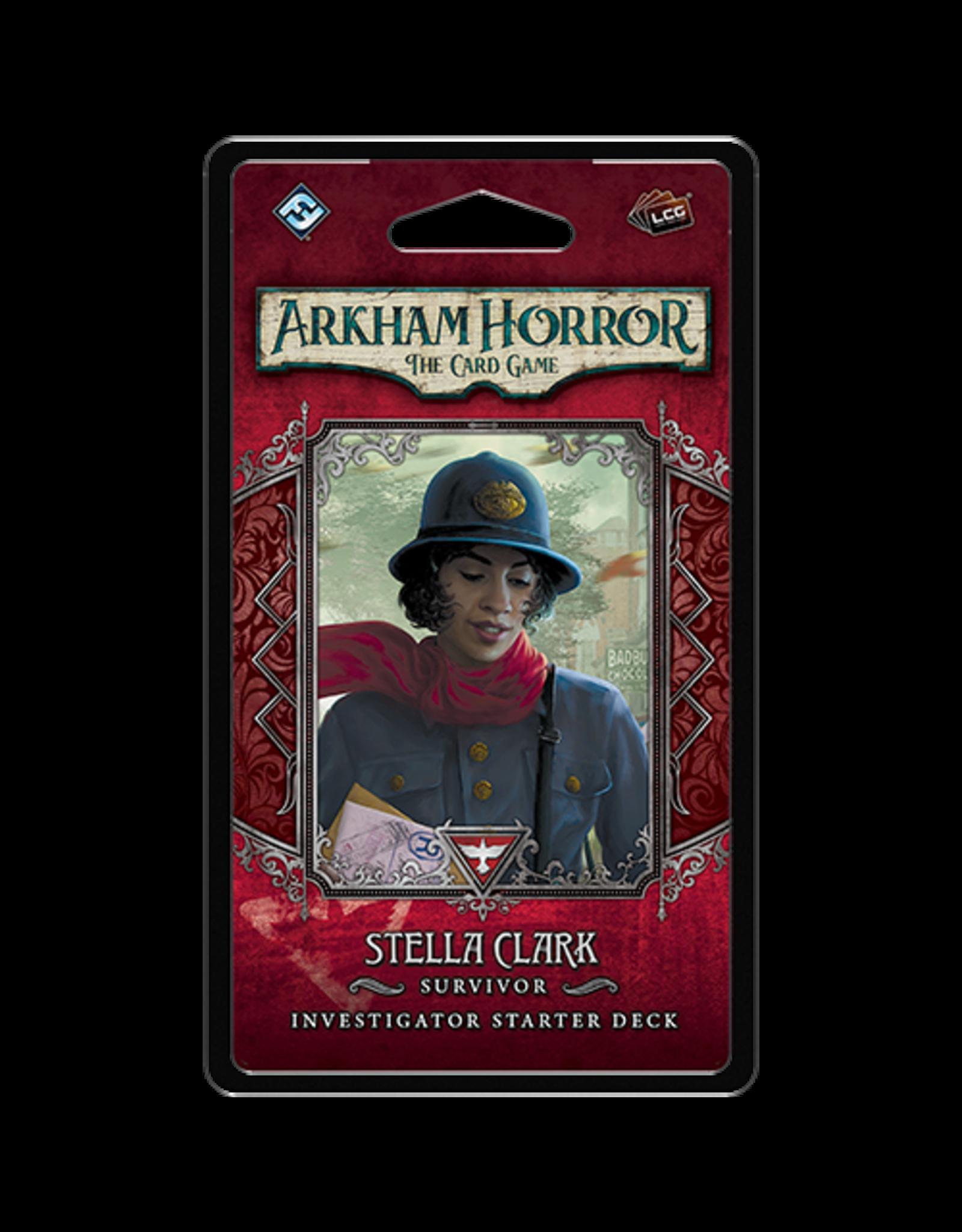 Fantasy Flight Games Arkham Horror LCG Stella Clark Investigator Starter Deck