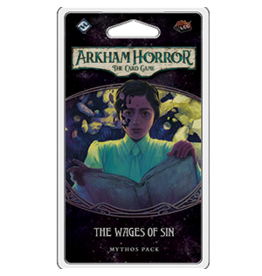 Fantasy Flight Games Arkham Horror LCG The Wages of Sin Mythos Pack