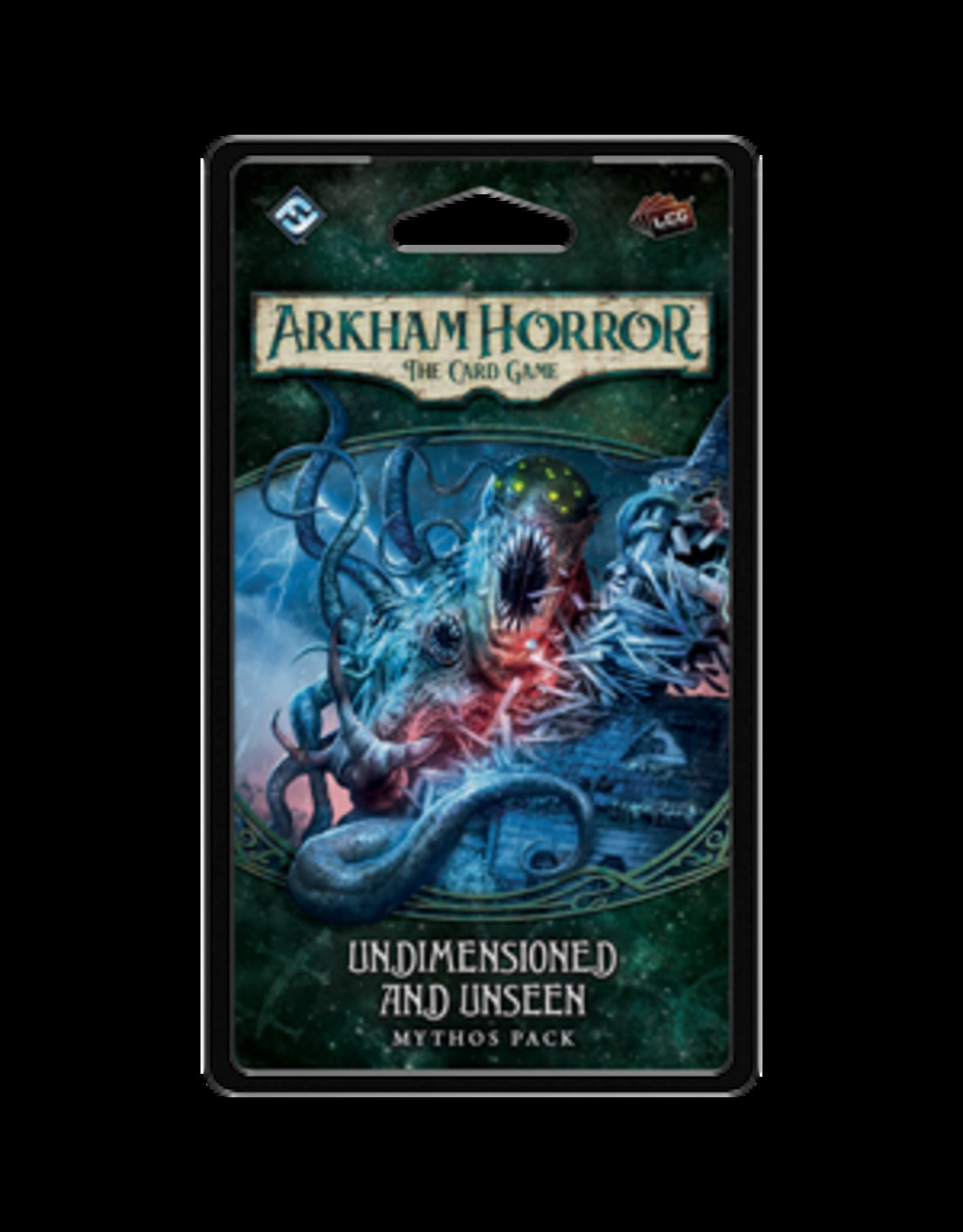 Fantasy Flight Games Arkham Horror LCG Undimensioned and Unseen Mythos Pack