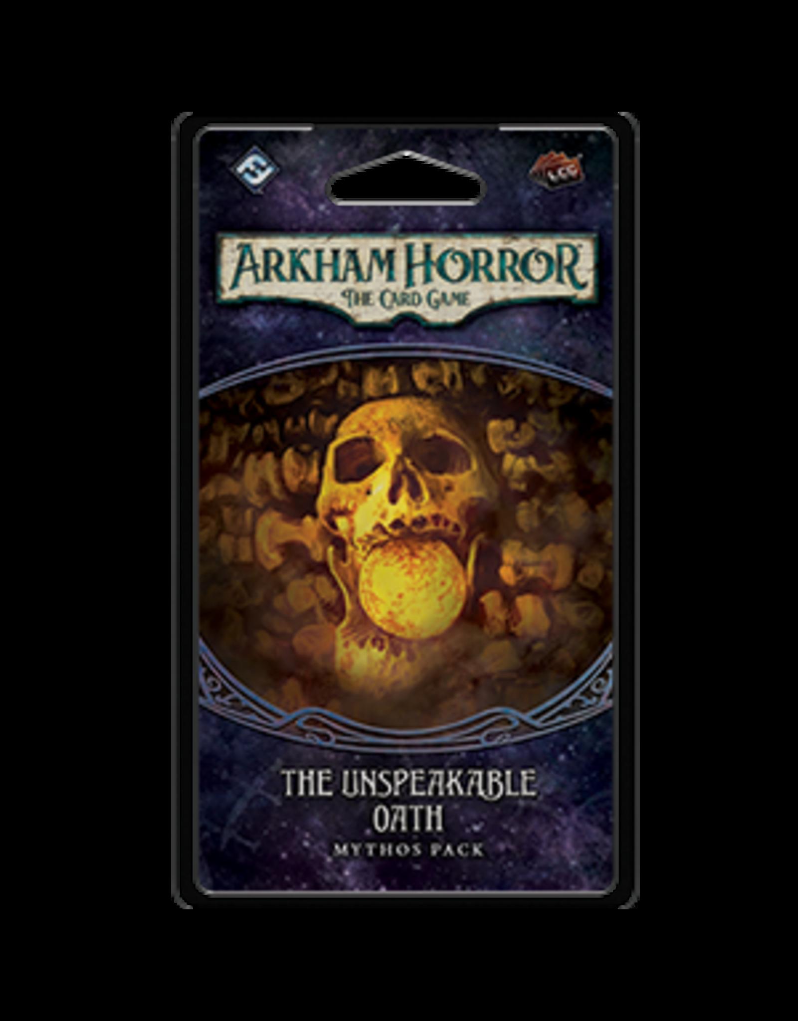 Fantasy Flight Games Arkham Horror LCG Unspeakable Oath Mythos Pack