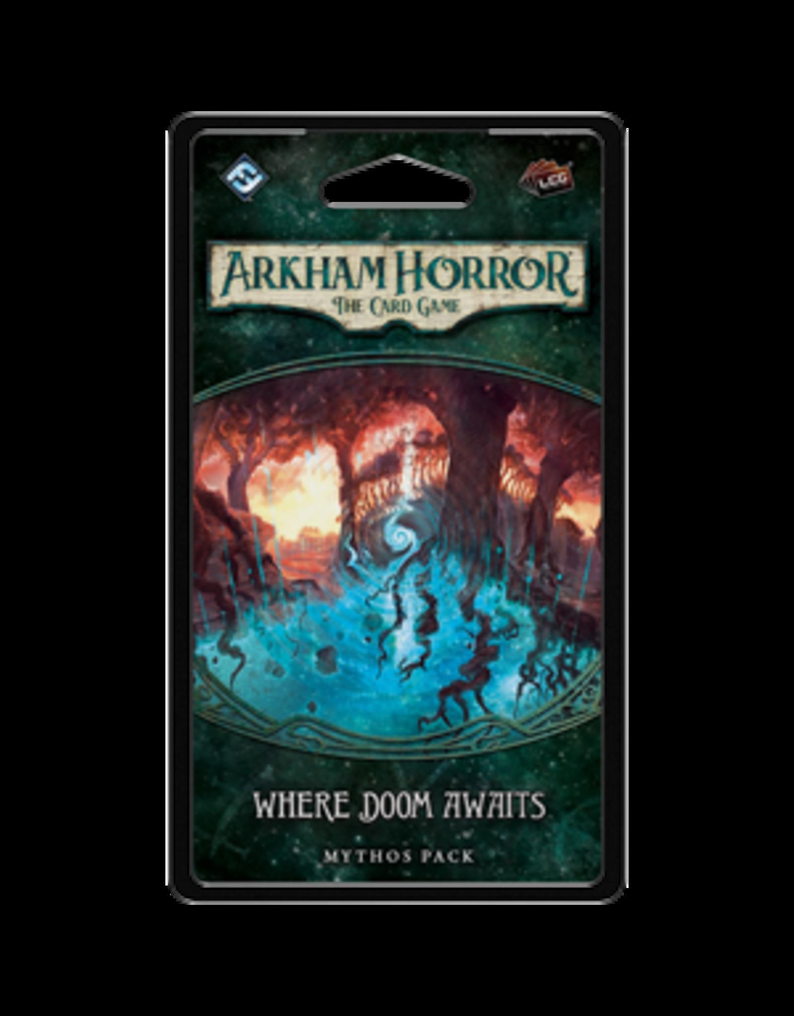 Fantasy Flight Games Arkham Horror LCG Where Doom Awaits Mythos Pack