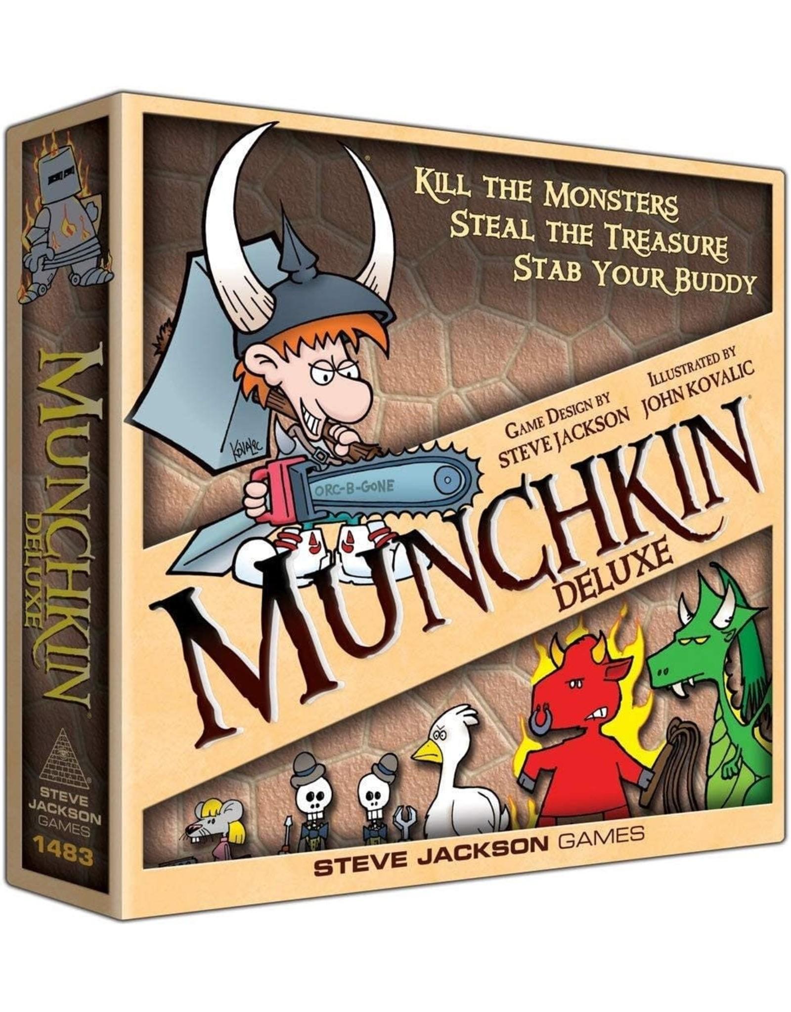 Steve Jackson Games Munchkin: Munchkin Deluxe