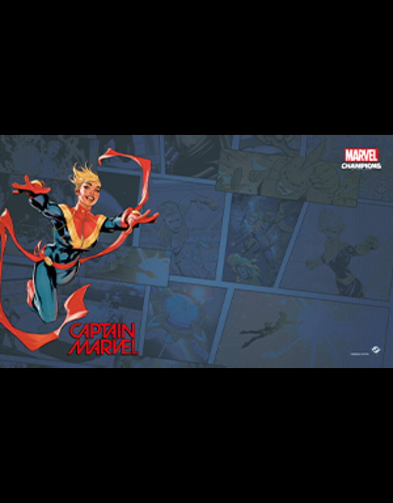 Fantasy Flight Games Marvel Champions Captain Marvel Mat