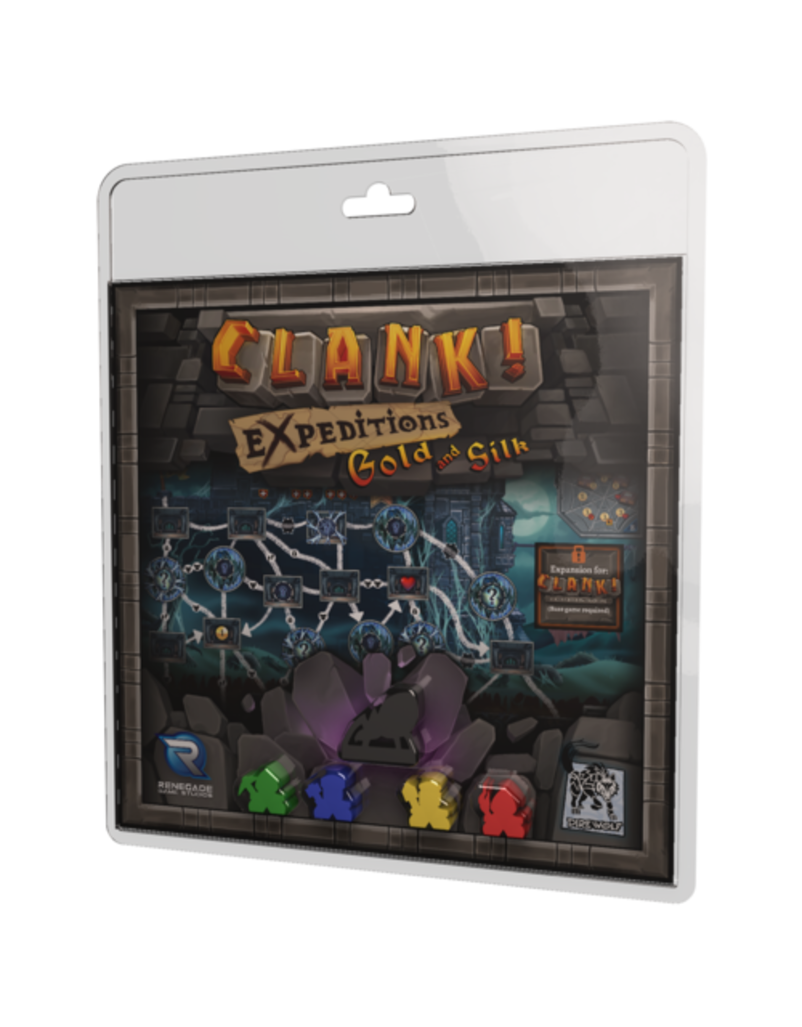Renegade Game Studios Clank!: Expeditions Gold & Silk