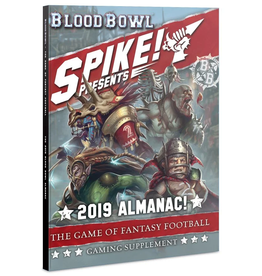 Warhammer Blood Bowl Spike! Presents 2019 Almanac Book