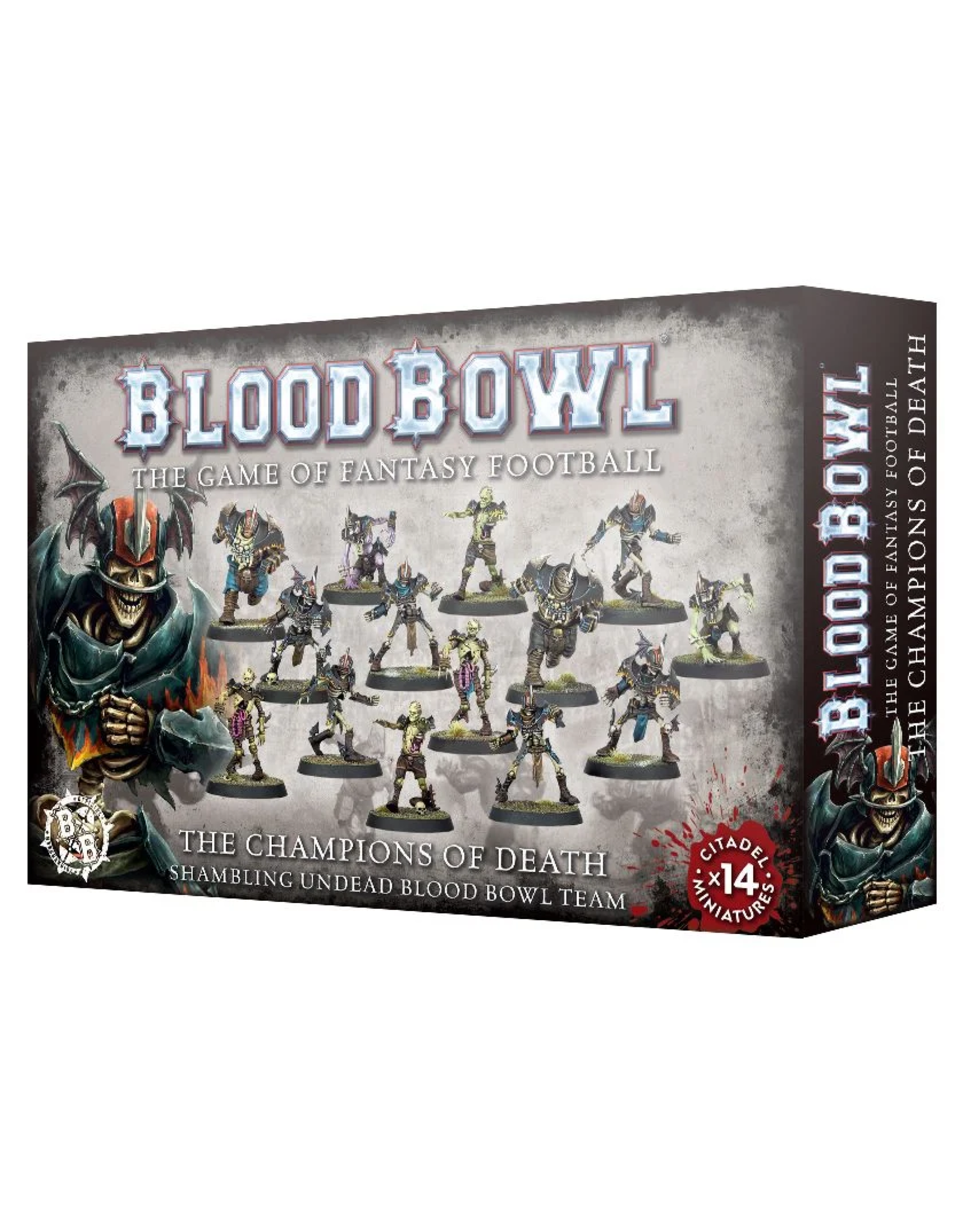 Warhammer Blood Bowl Team - Champions of Death