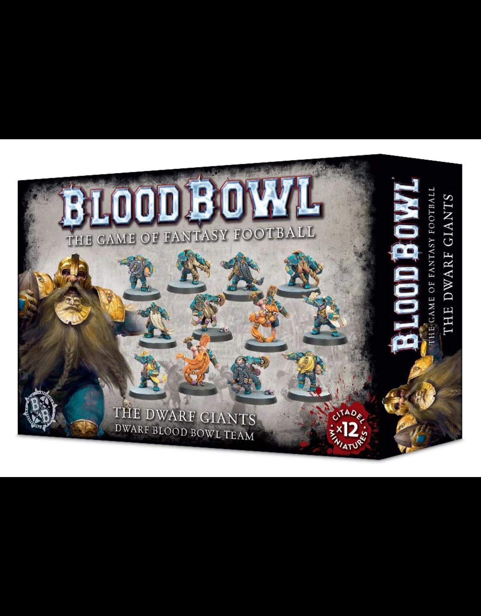 Warhammer Blood Bowl Team - Dwarf Giants