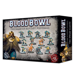 Warhammer Blood Bowl Team - Dwarf Giants