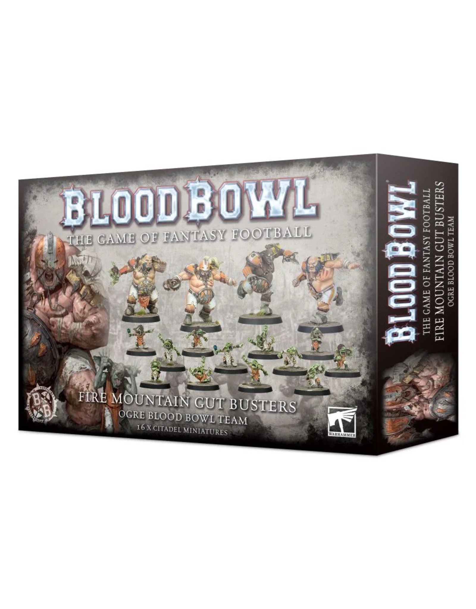 Warhammer Blood Bowl Team - Fire Mountain Gut Buster