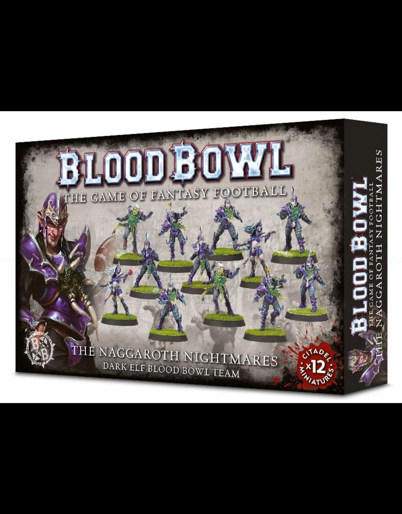 Warhammer Blood Bowl Team - Naggaroth Nightmares