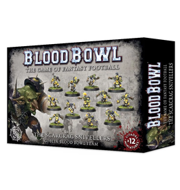 Warhammer Blood Bowl Team - Scarcrag Snivellers