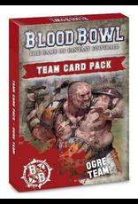 Warhammer Blood Bowl Team - Ogre Team Cards