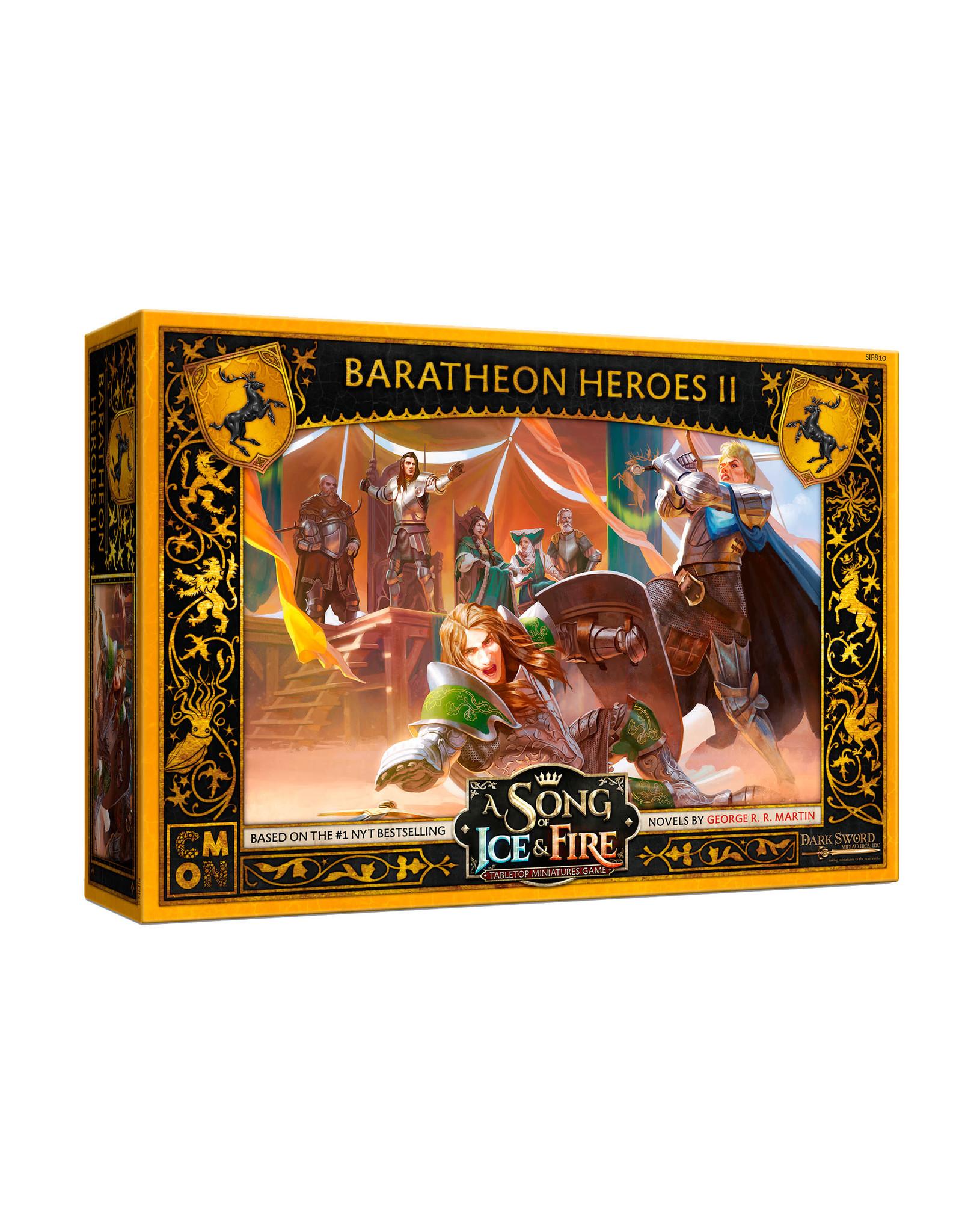 CMON SoIaF: Baratheon Heroes Box 2