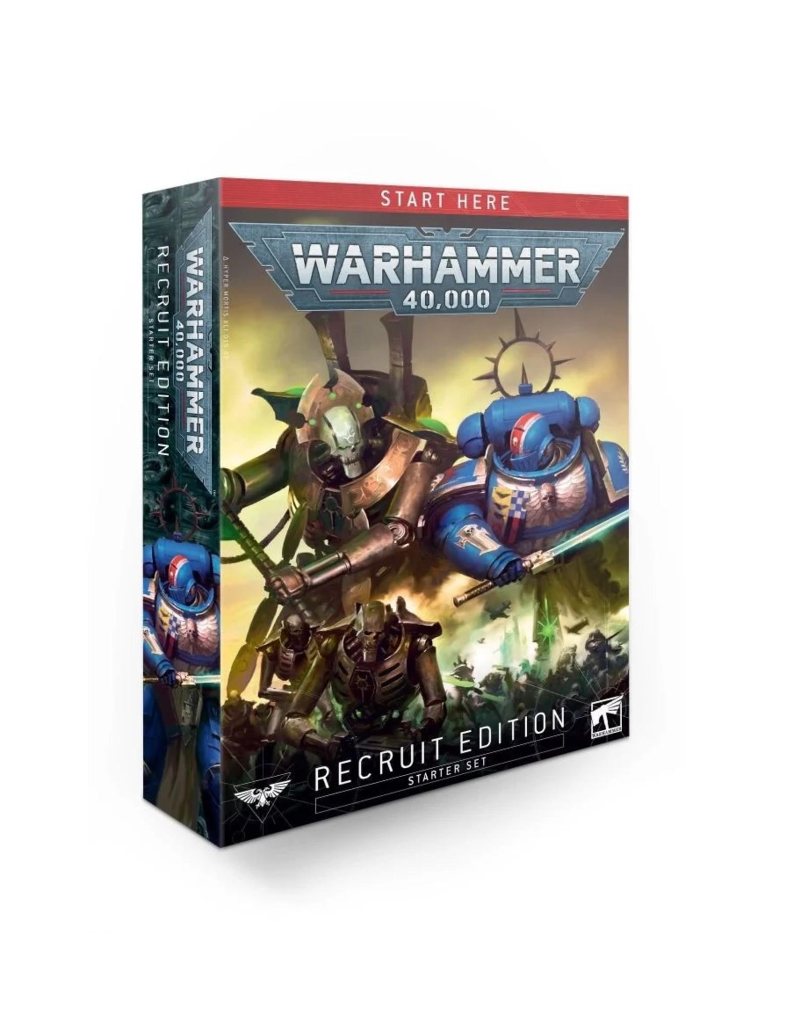 Games Workshop WH40K Recruit Edition Starter Set