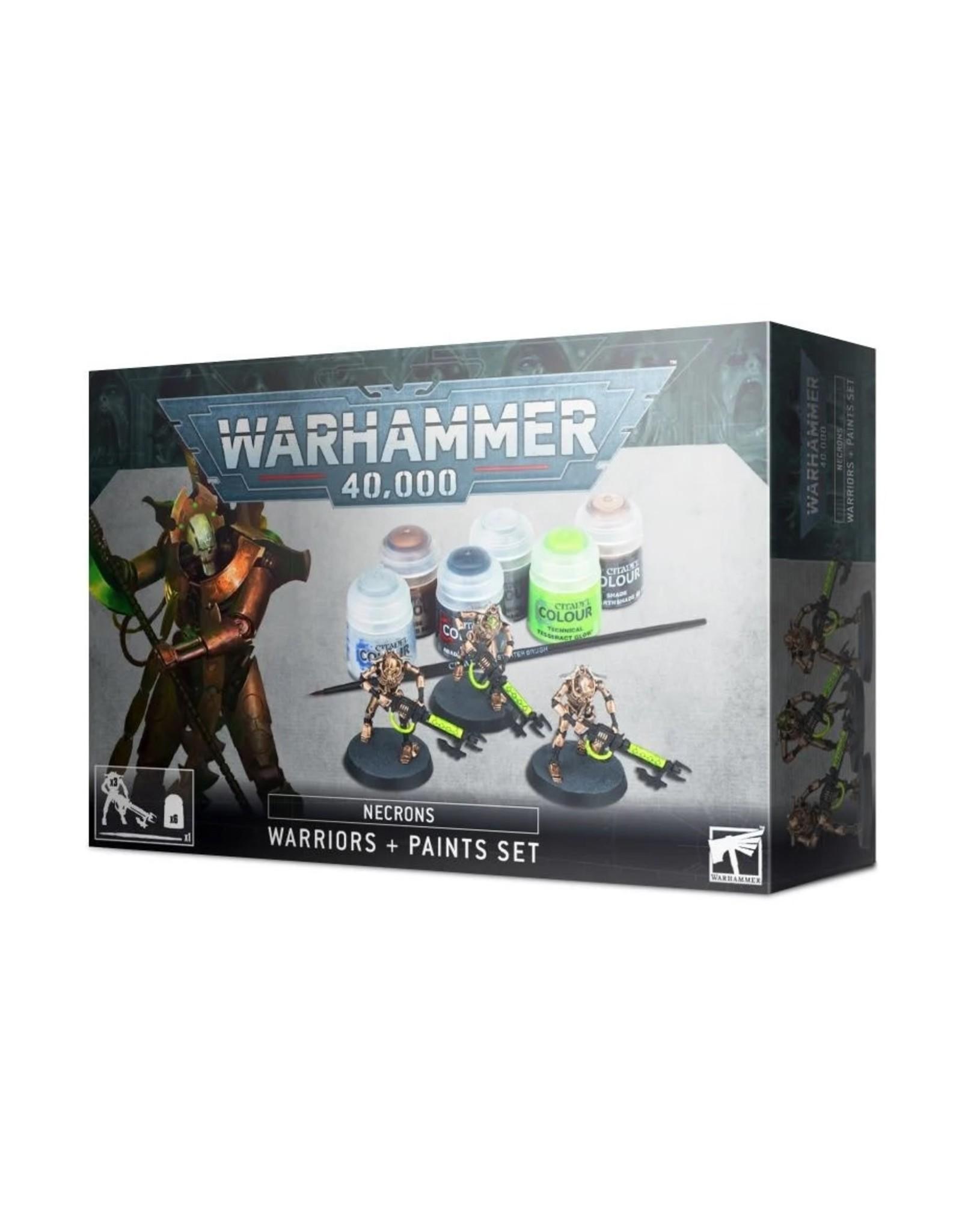 Games Workshop WH40K Necrons Warriors + Paint Set