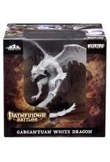 WizKids Pathfinder Gargantuan White Dragon