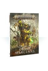 Games Workshop WHAoS Destruction Battletome - Orruk Warclans (old)