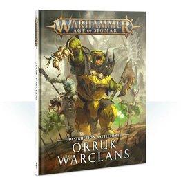 Games Workshop WHAoS Destruction Battletome - Orruk Warclans