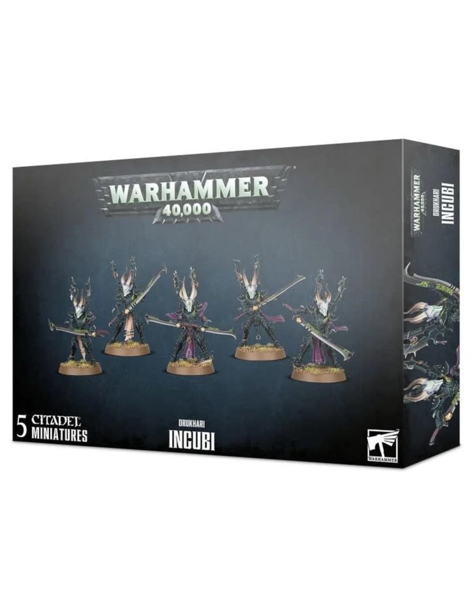 Warhammer 40K WH40K Drukhari Incubi