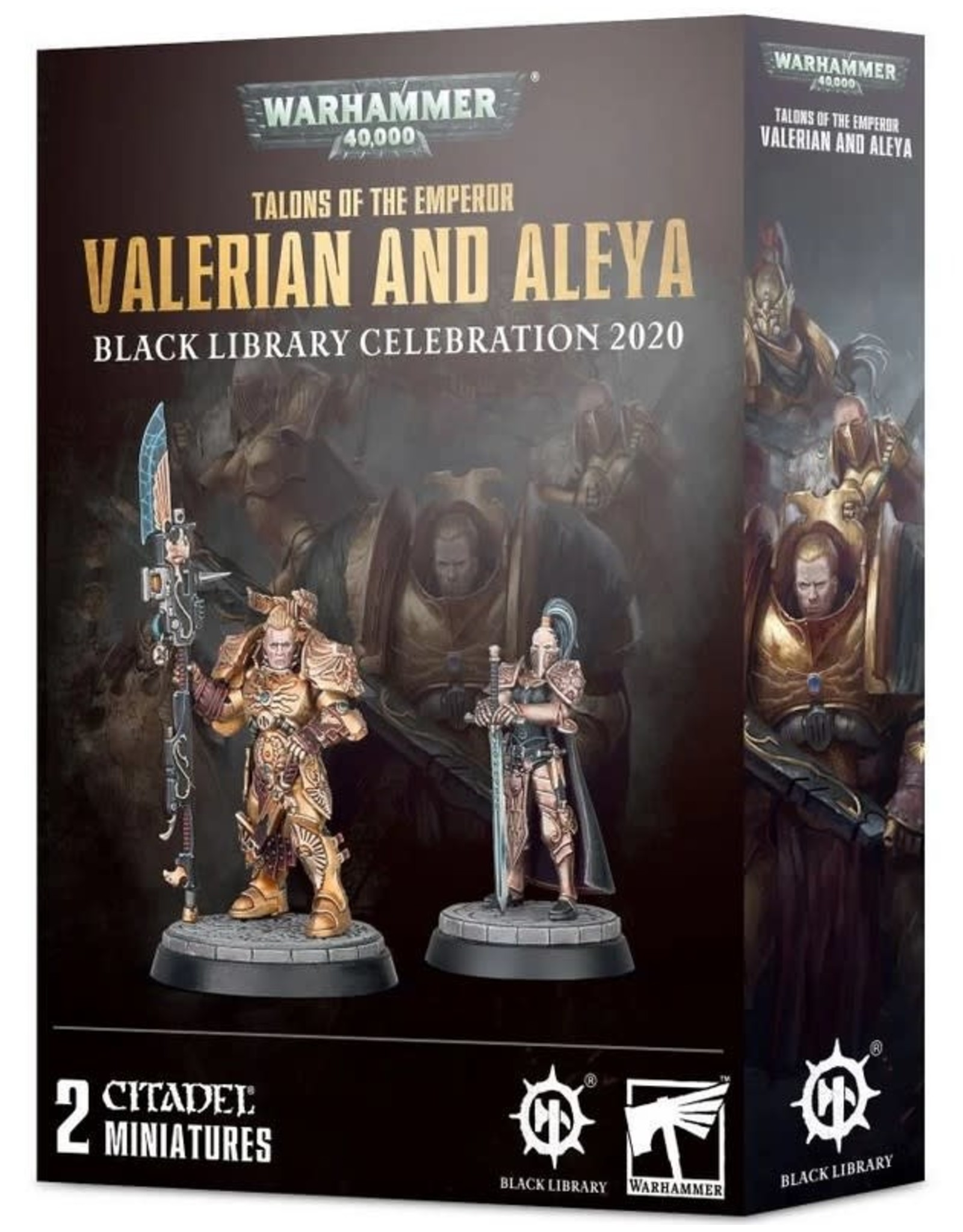 WH40K: Valerian and Aleya