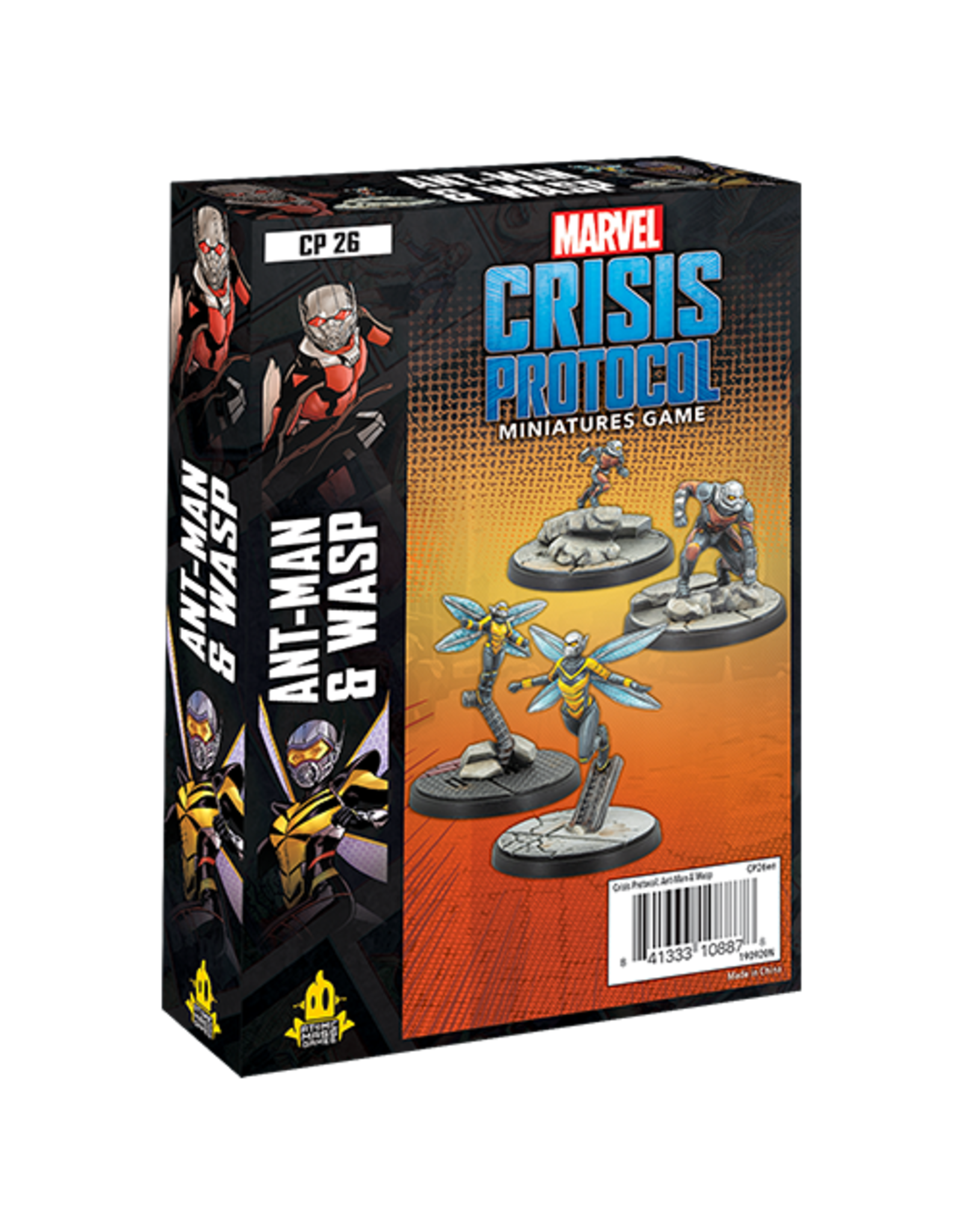 Atomic Mass Games Marvel Crisis Protocol - Ant-Man and Wasp