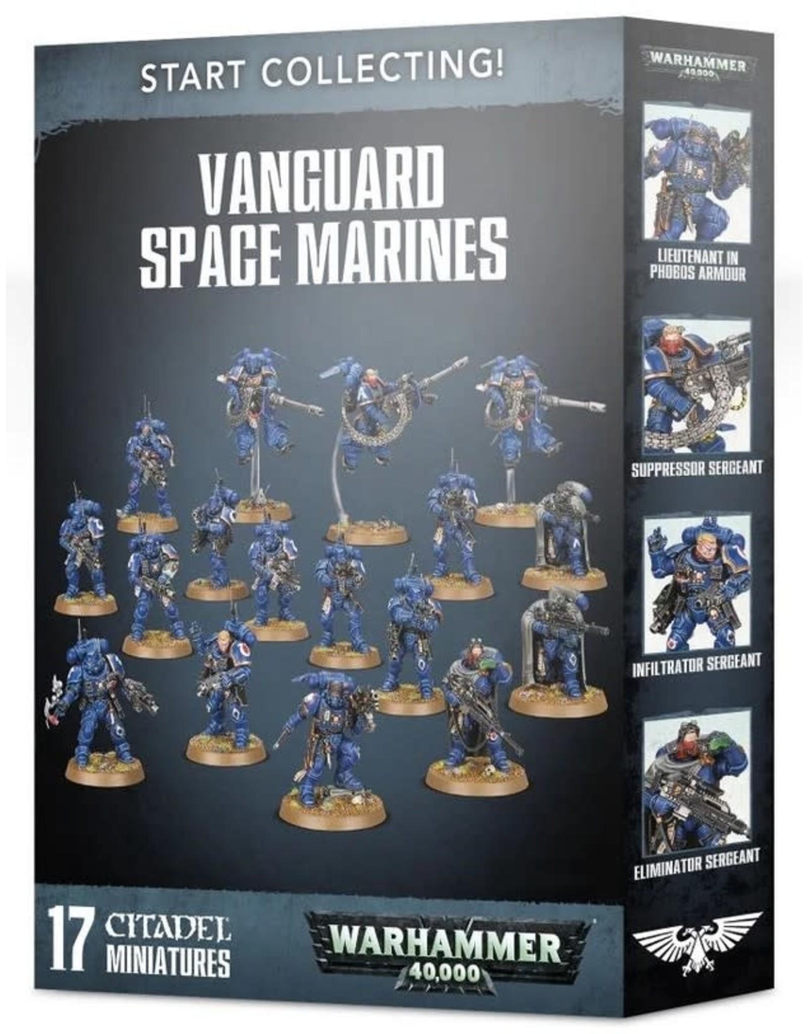 Warhammer 40K WH40K: Start Collecting Vanguard Space Marines