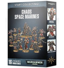 Warhammer 40K WH40K: Start Collecting Chaos Space Marines