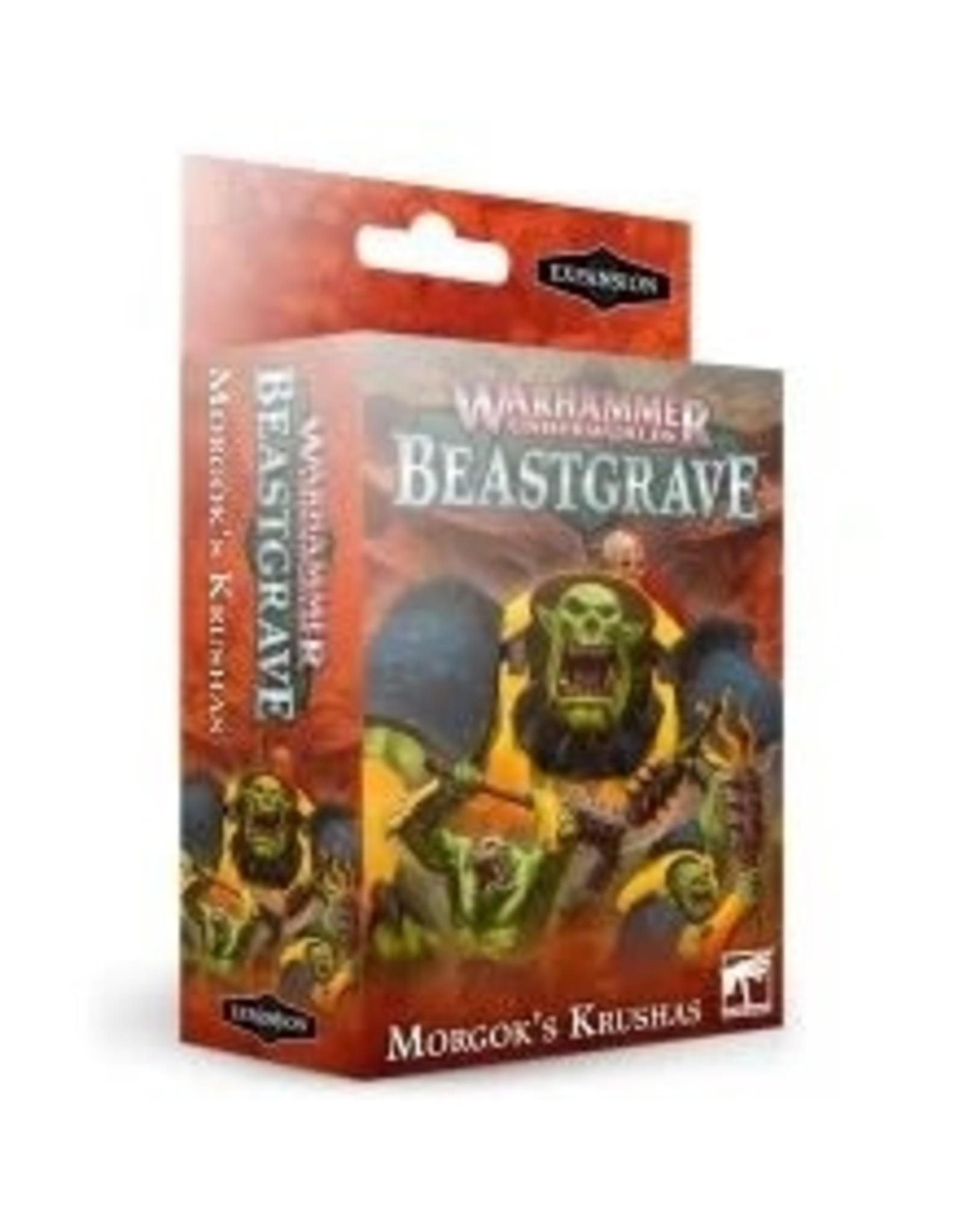 Games Workshop Warhammer Underworlds: Beastgrave - Morgok's Krushas
