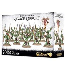 Warhammer AoS WHAoS Savage Orruks